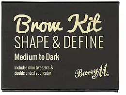 Düfte, Parfümerie und Kosmetik Augenbrauenset - Barry M Brow Kit