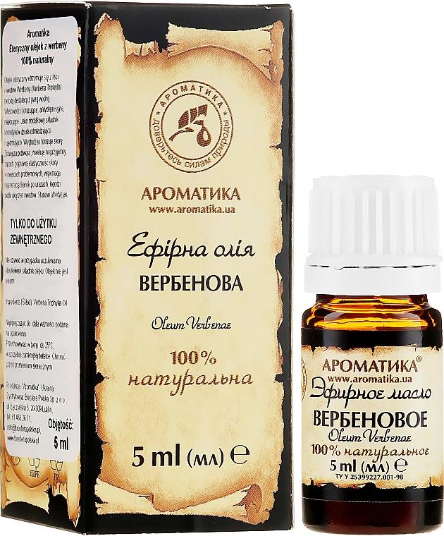 Ätherisches Bio Verbenaöl - Aromatika