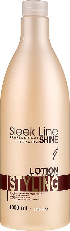 Haarlotion mit Seide zum Styling - Stapiz Sleek Line Styling Lotion