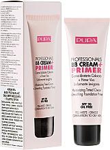Düfte, Parfümerie und Kosmetik Anti-Aging BB Creme SPF 20 - Pupa BB Cream + Primer For Combination To Oily Skin