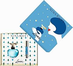 Düfte, Parfümerie und Kosmetik Nina Ricci Luna - Duftset (Eau de Toilette 50ml + Lippenstift 2,5g)