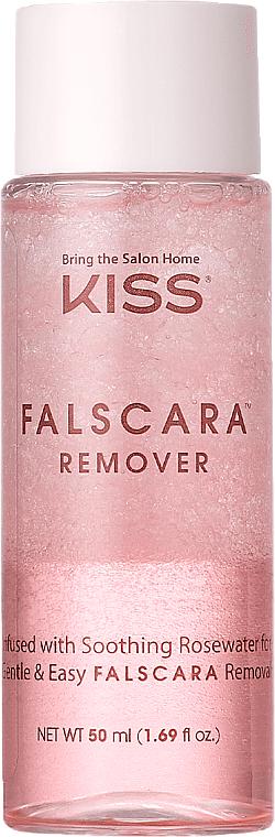 Entferner für Wimpernverlängerung mit Rosenwasser - Kiss Falscara Eyelash Remover — Bild N3