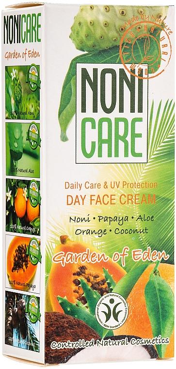 Pflegende Gesichtscreme mit Aloe Vera, Orange, Papaya, Noni, Kokosnuss und UV-Schutz - Nonicare Garden Of Eden Day Face Cream — Bild N1