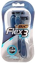 Düfte, Parfümerie und Kosmetik Einwegrasierer Flex 3 3 St. - Bic Flex 3
