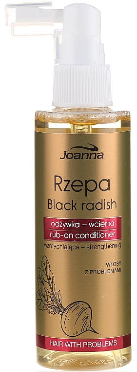 Stärkender Spray-Conditioner mit schwarzem Rettich - Joanna Turnip