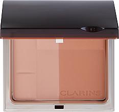 Düfte, Parfümerie und Kosmetik Bronzepuder Duo mit Mineralien LSF 15 - Clarins Bronzing Duo Mineral Powder Compact SPF 15
