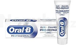 Düfte, Parfümerie und Kosmetik Aufhellende Zahnpasta - Oral-B Professional Gum & Enamel Pro-Repair Gentle Whitening