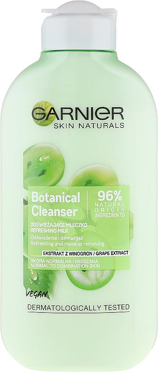 Gesichtswaschgel mit Traubenextrakt - Garnier Skin Naturals Botanical Grape Extract Cleanser Milk