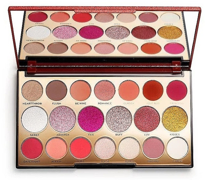 Lidschatten-Palette mit 20 Farben - Makeup Revolution Precious Stone