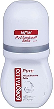 Düfte, Parfümerie und Kosmetik Deo Roll-on - Borotalco Pure Deodorant Roll On No Aluminium Salts 48h for Women