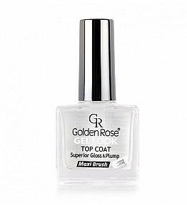 Glänzender Nagelüberlack mit Gel-Effekt - Golden Rose Top Coat Gel Look