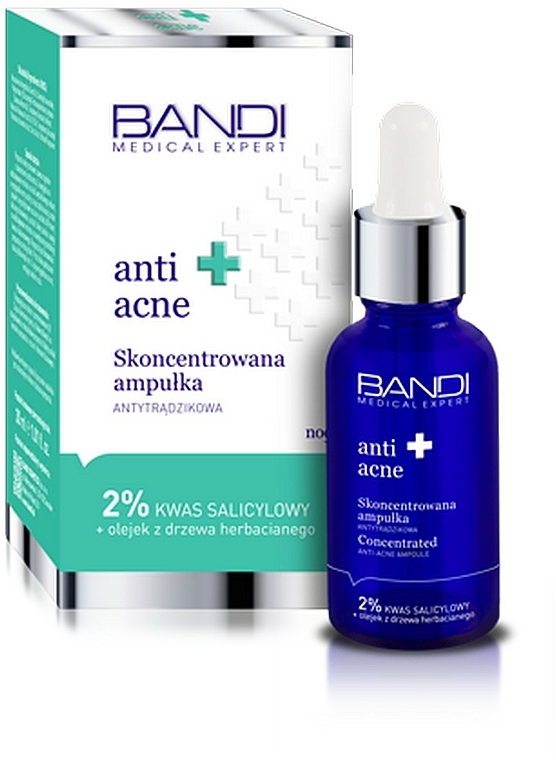 Anti-Akne Gesichtskonzentrat - Bandi Medical Expert Anti Acne Concentrated Ampoule