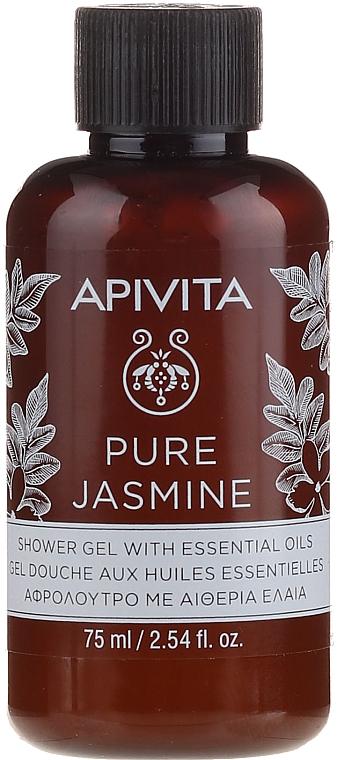 Duschgel mit Bio-Jasmin und ätherischen Ölen - Apivita Pure Jasmine Showergel with Essential Oils