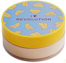 Düfte, Parfümerie und Kosmetik Loser Gesichtspuder Banane - I Heart Revolution Loose Baking Powder Banana
