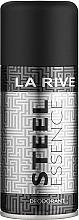 Düfte, Parfümerie und Kosmetik La Rive Steel Essence - Deospray