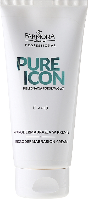 Mikrodermabrasion-Peelingcreme für das Gesicht - Farmona Professional Pure Icon Microdermabrasion Cream