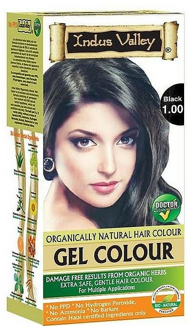 Ammoniakfreie Haarfarbe - Indus Valley Gel Colour — Bild N1
