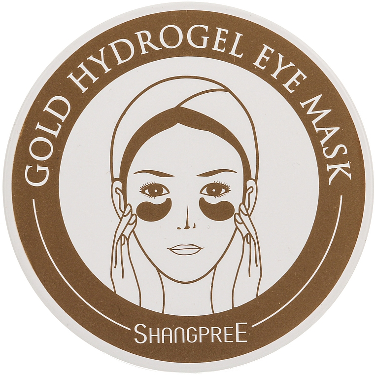 Hydrogelmaske für die Augenkontur - Shangpree Gold Hydrogel Eye Mask
