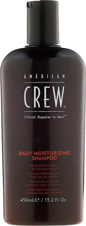 Feuchtigkeitsspendendes Shampoo für den täglichen Gebrauch - American Crew Daily Moisturizing Shampoo