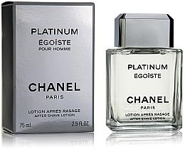 Düfte, Parfümerie und Kosmetik Chanel Egoiste Platinum - After Shave