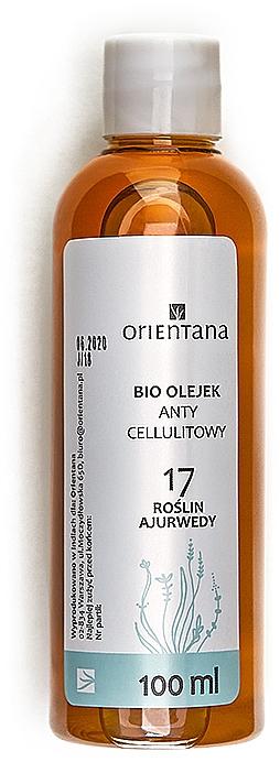 Ayurvedisches Anti-Cellulite-Öl mit 17 Kräutern - Orientana Bio Oil