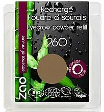 Düfte, Parfümerie und Kosmetik Augenbrauenpuder (Nachfüller) - Zao Eyebrow Powder