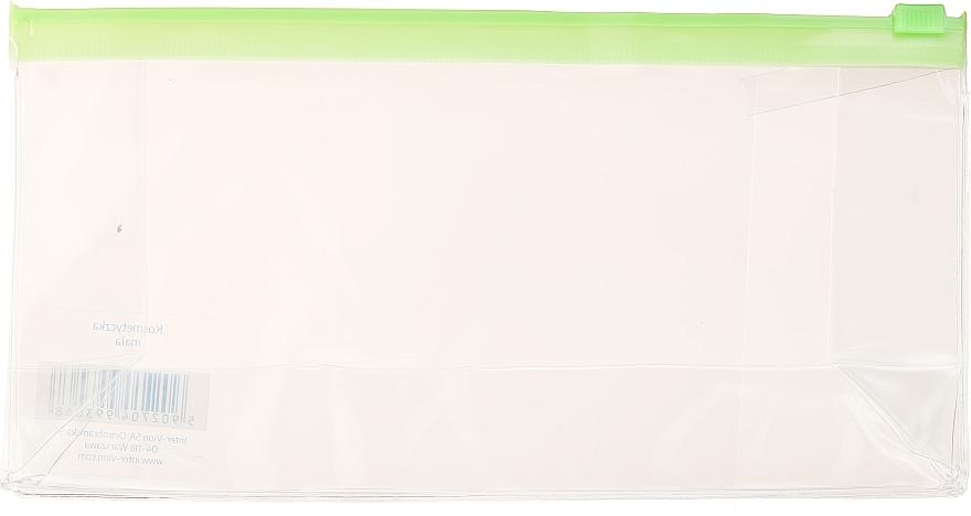 Reise-Kosmetiktasche 499306 transparent grün - Inter-Vion — Bild N1