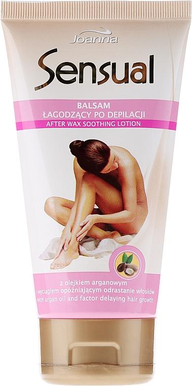 Beruhigende Lotion nach der Haarentfernung mit Arganöl - Joanna Sensual Balzam