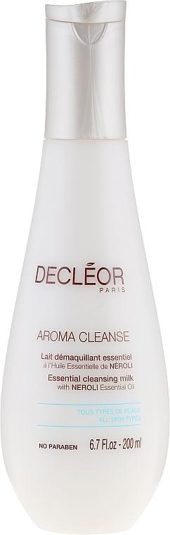 Gesichtsreinigungsmilch mit Neroli-Essenzöl - Decleor Aroma Cleanse Essential Cleansing Milk