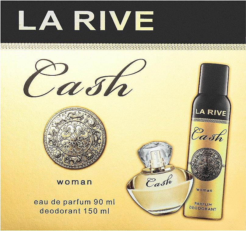 La Rive Cash Woman - Duftset (Eau de Parfum/90ml + Deodorant/150ml)