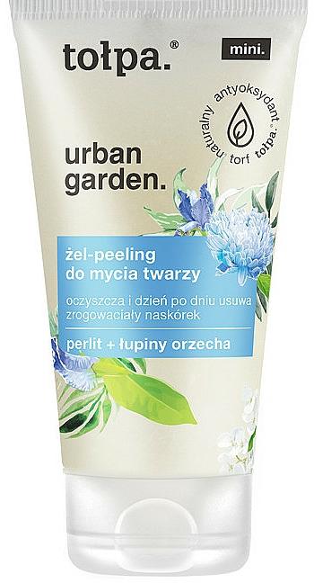 Gesichtsgel-Peeling - Tolpa Urban Garden Face Gel-Peeling Cleanser