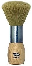 Düfte, Parfümerie und Kosmetik Nackenwedel mit Holzgriff  974 S - Nishman