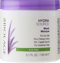 Düfte, Parfümerie und Kosmetik Feuchtigkeitsspendende Haarmaske für trockene Haut - Biolage Hydrasource Mask For Dry Hair