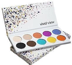 Düfte, Parfümerie und Kosmetik Lidschattenpalette - Paese Vivid View Eyeshadow Palette