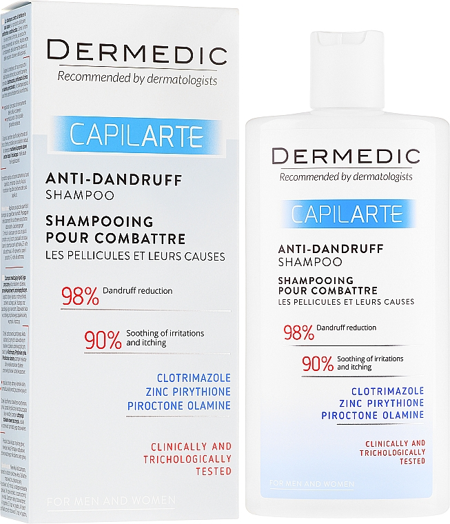 Anti-Schuppen Shampoo - Dermedic Capilarte Shampoo