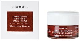 Düfte, Parfümerie und Kosmetik Straffende Tagescreme gegen Falten - Korres Castanea Arcadia Antiwrinkle&Firming Day Cream