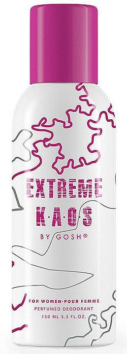 Gosh Extreme Kaos For Women - Deospray