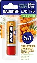 """Düfte, Parfümerie und Kosmetik Regenerierende Lippenvaseline """"Sibirian Merr Sanddorn"""" - Fito Kosmetik"""