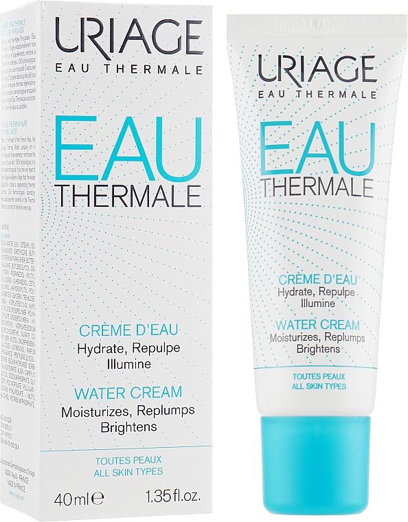 Feuchtigkeitsspendende und hypoallergene Gesichtscreme für normale bis Mischhaut - Uriage Eau Thermale Water Cream