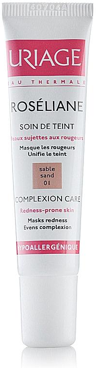 Uriage Sensitive Skin Roseliane Complexion Care - Flüssige Foundation gegen Rötungen