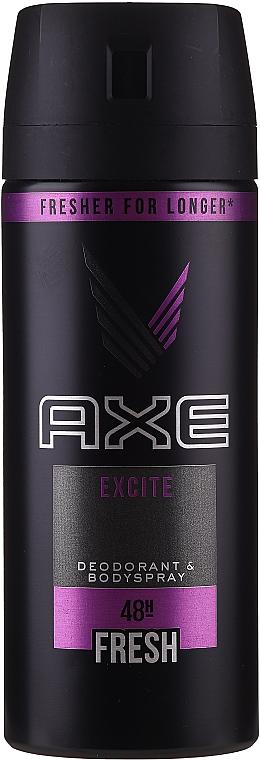 Deospray Excite Antitranspirant - Axe Deodorant Bodyspray Dry Excite