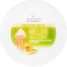 Düfte, Parfümerie und Kosmetik Hand- und Fußbutter mit Zuckermelonen-Milchshake - Stani Chef's Hand And Foot Butter Melon Milk Shake