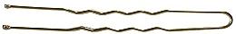 Düfte, Parfümerie und Kosmetik Haarnadeln, gold - Lussoni Wavy Hair Pins 6.5 cm Golden