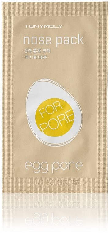 Nasenporenstreifen gegen Mitesser - Tony Moly Egg Pore Nose Pack