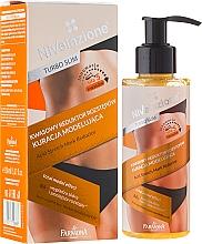 Düfte, Parfümerie und Kosmetik Straffende Körpermaske gegen Dehnungsstreifen - Farmona Nivelazione Turbo Slim Acid Stretch Mark Reductor