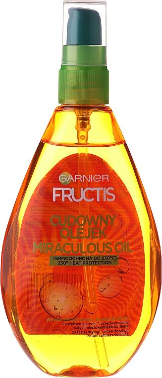 Haaröl mit Argan - Garnier Fructis