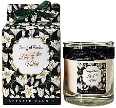 Düfte, Parfümerie und Kosmetik Duftkerze im Glas Lily of the Valley - Song of India Lily of the Valley Candle