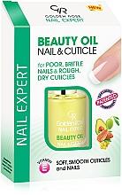 Düfte, Parfümerie und Kosmetik Nagel- und Nagelhautöl mit Vitamin E - Golden Rose Nail Expert Beauty Oil Nail & Cuticle