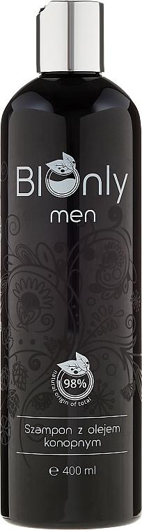 Shampoo mit Hanföl für Männer - BIOnly Men Shampoo
