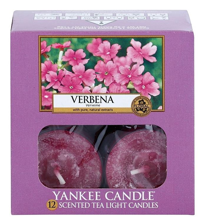 Teelichter Verbena - Yankee Candle Scented Tea Light Candles Verbena — Bild N3